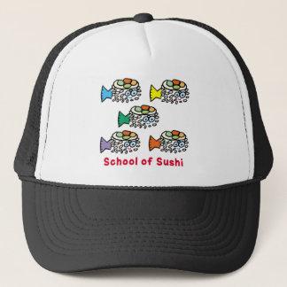 School of Sushi Trucker Hat