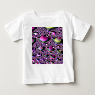 School of Tropical Diving Fish Fractal Baby T-Shirt