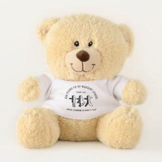 School Organization Logo T-Shirt Teddy Bear