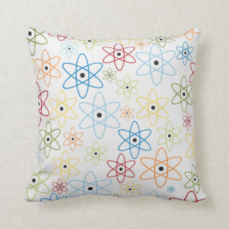 School pattern throw pillow