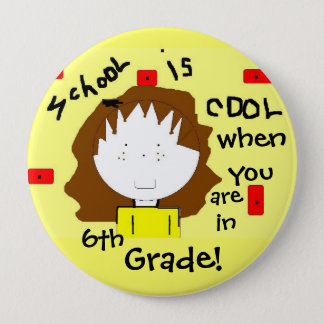 School Personalized Button - Customize the Grade