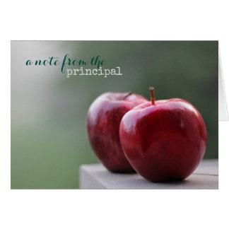 School Principal Note Cards