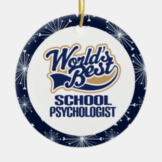 School Psychologist Gift Ornament