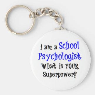 school psychologist keychain