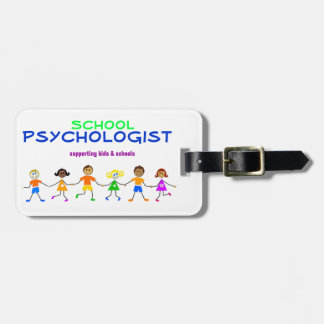 School Psychologist Laptop or Luggage Tag