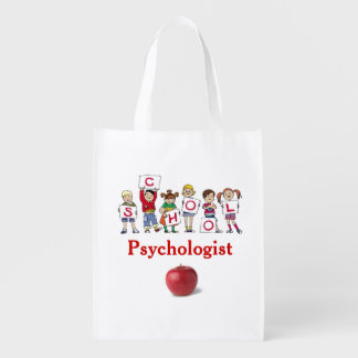 School Psychologist Reusable Grocery Bag