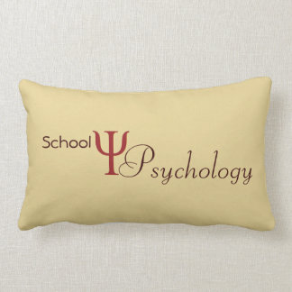 School Psychology Accent Pillow