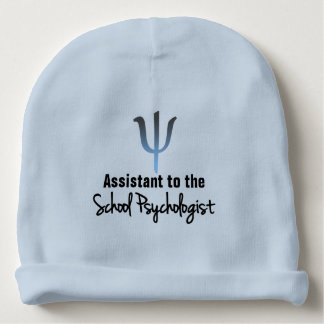 School Psychology Assistant Baby Beanie