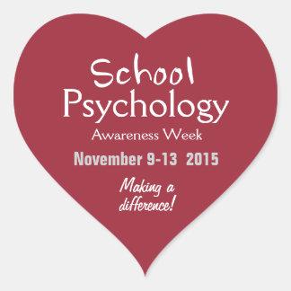 School Psychology Celebration 2015 Stickers