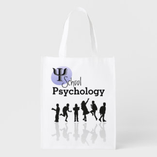 School Psychology Reusable Grocery Bag/Tote Reusable Grocery Bag