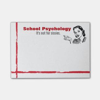 School Psychology Sense of Humor Post-it Notes
