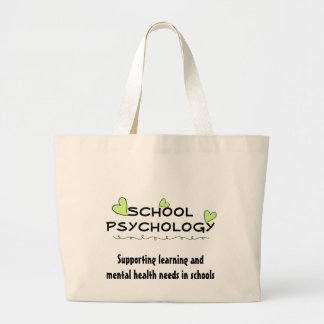 School Psychology Sprouting Hearts Tote