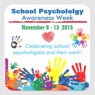 School Psychology Week 2015 Colorful Stickers