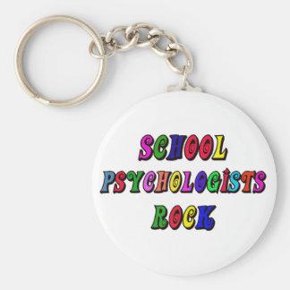 SCHOOL PSYCOLOGIST ROCK KEYCHAIN