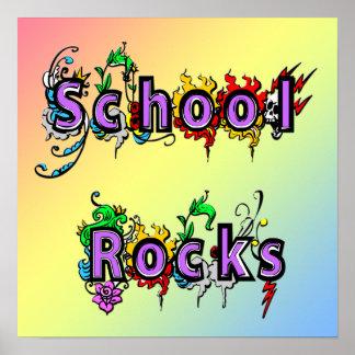 School Rocks Poster