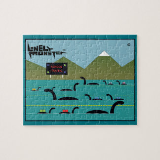 School Run Lonely Monster Jigsaw Puzzle