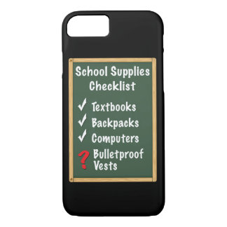 School Safety Supplies Checklist iPhone 8/7 Case