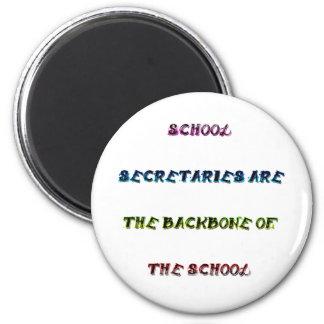 SCHOOL SECRETARIES 2 INCH ROUND MAGNET