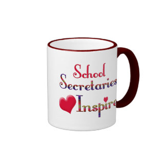 School Secretaries Inspire Coffee Mug