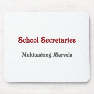 School Secretaries Multitasking Marvels Mouse Pad