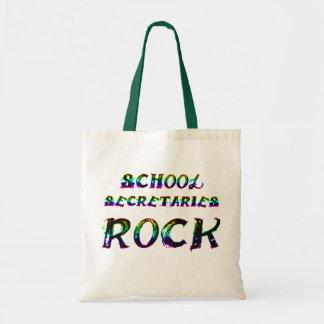 SCHOOL SECRETARIES ROCK BUDGET TOTE BAG