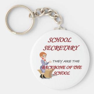 SCHOOL SECRETARY 2 copy Keychains