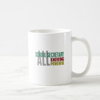 School Secretary Classic White Coffee Mug