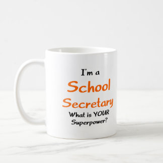 School secretary coffee mug