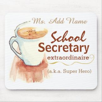 School Secretary Custom Mouse Pad