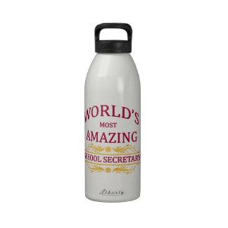 School Secretary Drinking Bottle