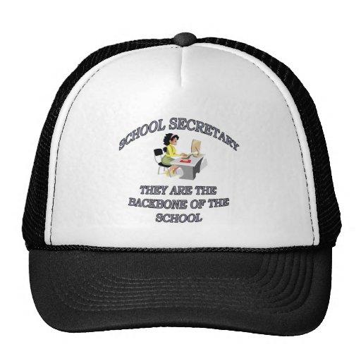 SCHOOL SECRETARY MESH HATS