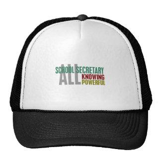 School Secretary Trucker Hat