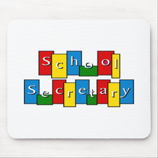 School Secretary Mousepad
