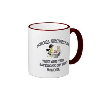 SCHOOL SECRETARY RINGER COFFEE MUG