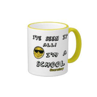 School Secretary Ringer Mug