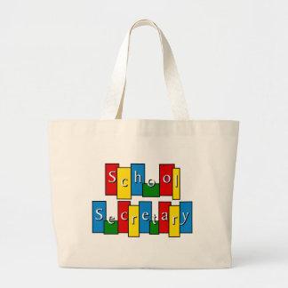 School Secretary Tote Bag