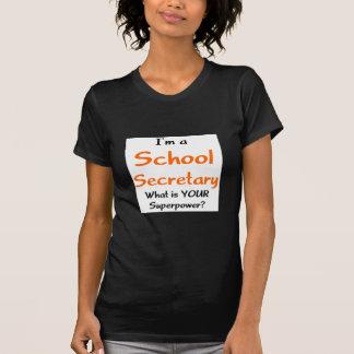 School secretary tee shirt