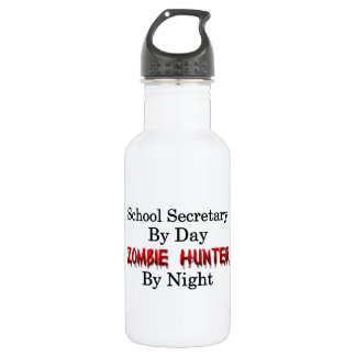 School Secretary/Zombie Hunter
