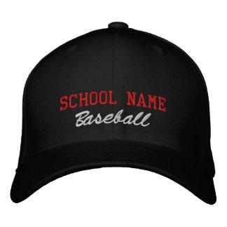 School Spirit Baseball- Embroidered Hat