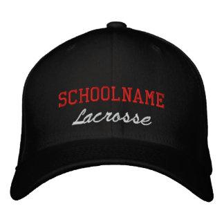 School Spirit Lacrosse - Embroidered Hat