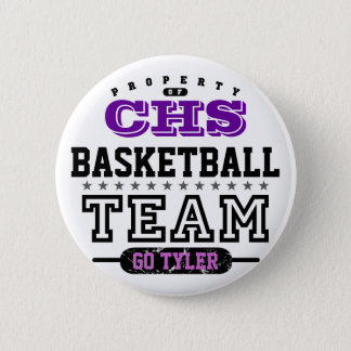 School Sport Team 2 Inch Round Button