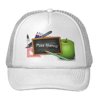 School Supplies Mesh Hats
