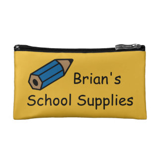 School Supplies Pencil Pouch