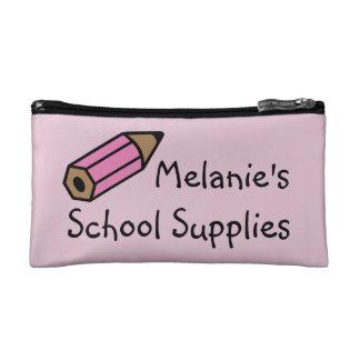 School Supplies Pencil Pouch Makeup Bags