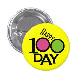 School Teacher 100 Day Button - SRF