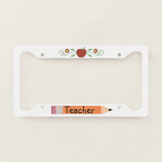 School Teacher License Plate Frame