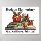 School - Teacher / Principal Poster