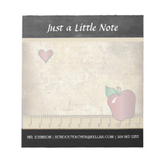 School Teacher | Vintage Style Notepad