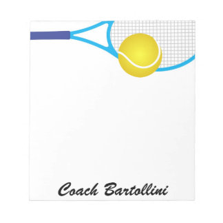 School Tennis Note Pad - SRF