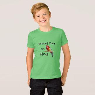 School Time, Be Kind Birdie T-Shirt